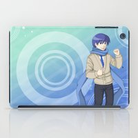 vocaloid iPad Cases featuring Kaito - VOCALOID Gakuen by Tenki Incorporated