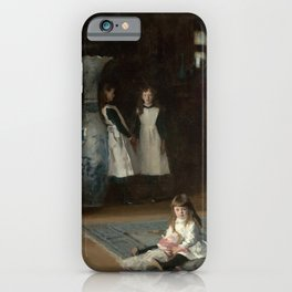 The Daughters of Edward Darley Boit by John Singer Sargent (1882) iPhone Case