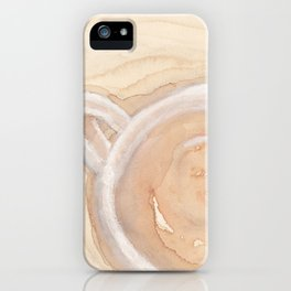 Coffee Painting iPhone Case