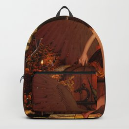 Beautiful dark fairy Backpack