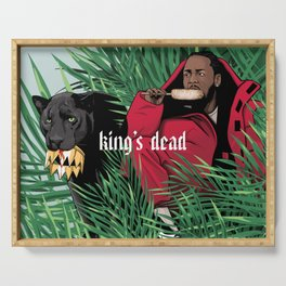 King's dead Serving Tray