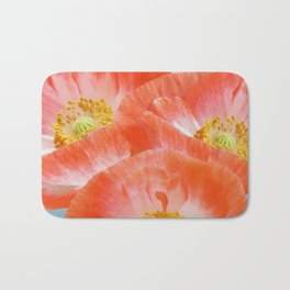 The beauty of poppies Bath Mat