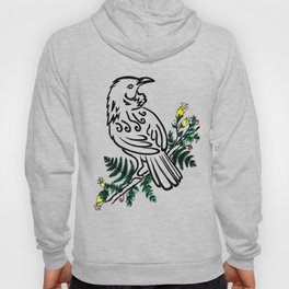 New Zealand Tui Bird Hoody