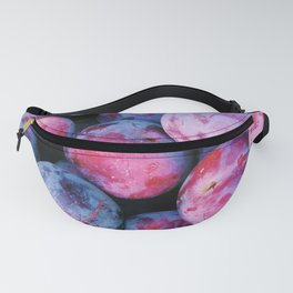 Juicy Summer Plums Fanny Pack