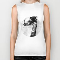 grace Biker Tanks featuring GRACE by kravic