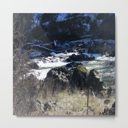 Winter scenery in Northern California... Metal Print