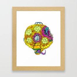 Monster Donut Framed Art Print