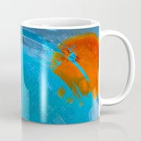 earth Mugs featuring Earth by Fernando Vieira