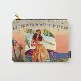 I' ve got a summer in my heart Carry-All Pouch