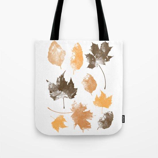 autumn, leaves, Tote Bag