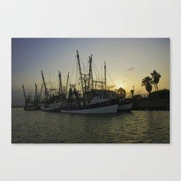 Shrimp boat 2 Canvas Print