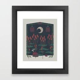 Vacation Home Framed Art Print