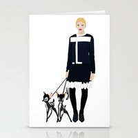 givenchy Stationery Cards featuring Givenchy  by Jo Lee