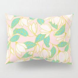 Sweet magnolia floral pattern Pillow Sham