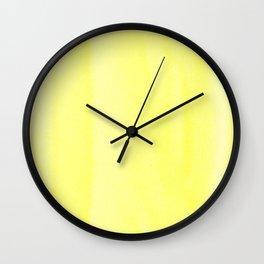 151208 6.Lemon Yellow Wall Clock