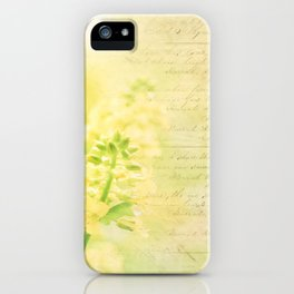 Spring Romance iPhone Case