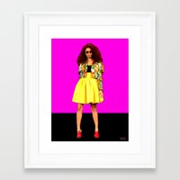 colombia Framed Art Prints featuring Moda…Colombia by FiVe