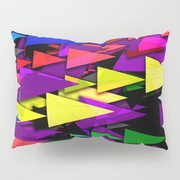 Triangle Art Deco Pillow Sham