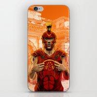 gladiator iPhone & iPod Skins featuring German Gladiator Podolski by Akyanyme