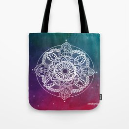 Confidence Zendala ''Starry Sky'' Tote Bag