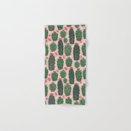 Blushing Cactus Hand & Bath Towel