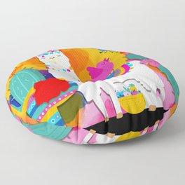 Fiesta Llama Floor Pillow