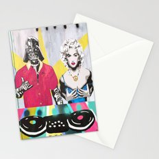 Music Rave Fun Stationery Cards