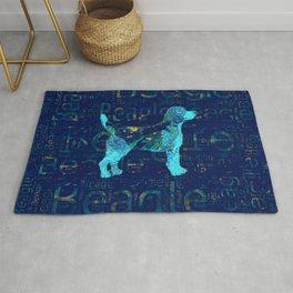 Decorative Beagle  dog Rug