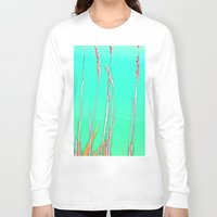 grass Long Sleeve T-shirts featuring Grass by Anne Millbrooke