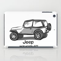 jeep iPad Cases featuring Jeep by Mister Abigail