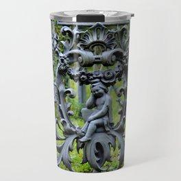 Lovely Cemetery Gate Travel Mug