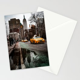 23rd Street Puddles Stationery Cards
