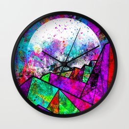 As a new planet is born Wall Clock