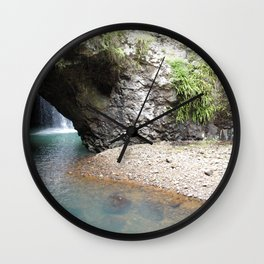 Natural Bridge (Arch) Wall Clock