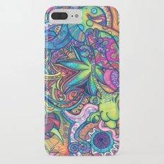 Colorful Weed TRIPPY Slim Case iPhone 7 Plus