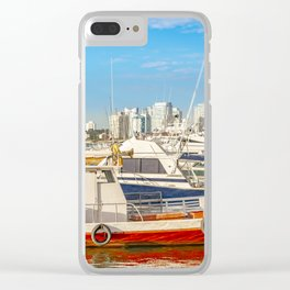Punta del Este Port, Maldonado, Uruguay Clear iPhone Case