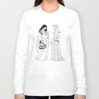 roman Long Sleeve T-shirts featuring Roman Sisters by Tom Tierney Studios