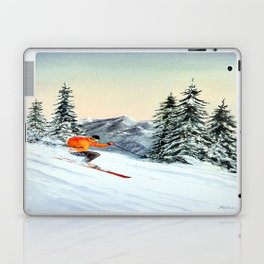 Skiing The Clear Leader Laptop & iPad Skin