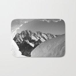 French Alps, Chamonix, France. (1) Bath Mat