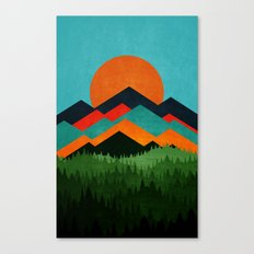 Chill Sunny Day ||| Canvas Print