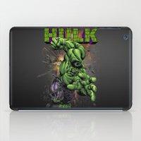 hulk iPad Cases featuring Hulk by WaXaVeJu