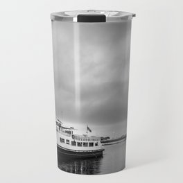 Ruturn to the shore before the storm Travel Mug