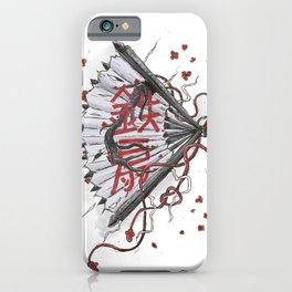 Tessen [ 鉄扇 ] iPhone Case