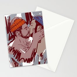 Winter Boys  - Chirstmas at home Stationery Cards