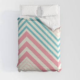 Diagonal stripes Comforters
