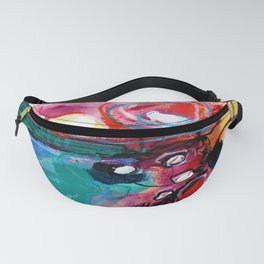 Abstract Soul Dance 1 by Kathy Morton Stanion Fanny Pack