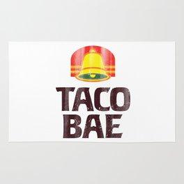 Taco Bae Vintage Print Rug