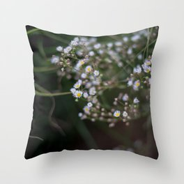 Flower Power | Chamomile in Serbian Zoom Throw Pillow