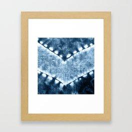 SHIBORI N3 Framed Art Print