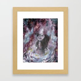 White Hole Framed Art Print